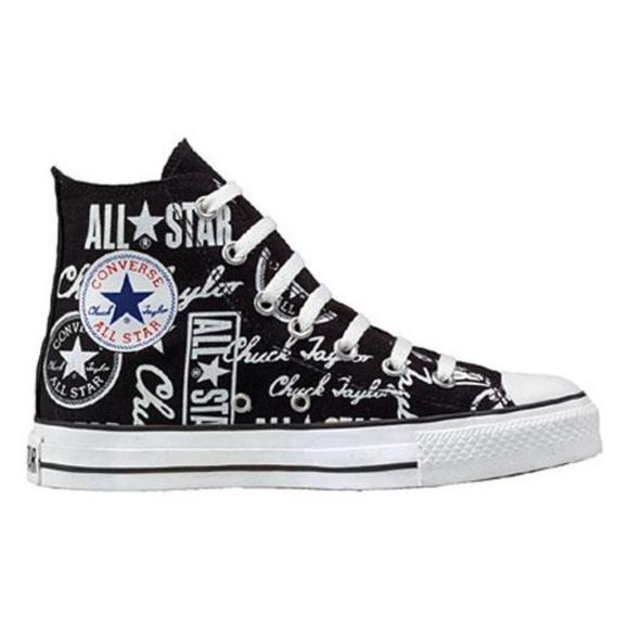 53bb1db4d914f6 Converse Other - Converse Chuck Taylor All Star Logo High Tops M10